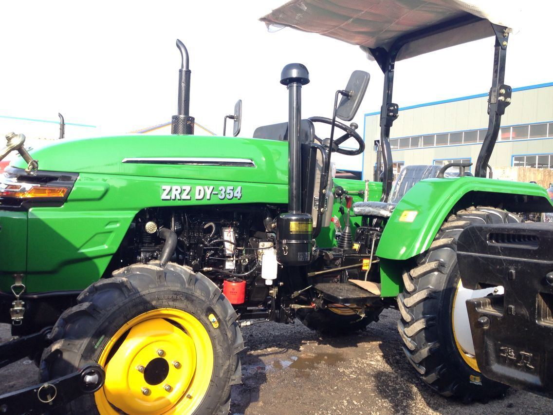 30-75HP Agriculture Use Wheel Farm Tractor with Loader
