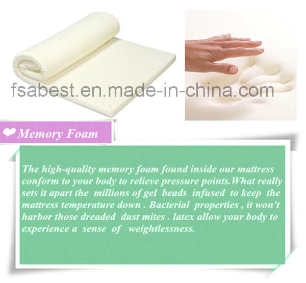 Memory Foam and Latex Mattress ABS-3811