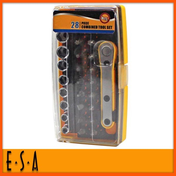 2014 New and Popular Tooling Set, Promotional 28PCS Combined Tool Set, Hot Sale Hand Tools, Hardware Tool T18A034