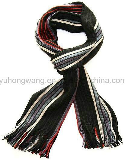 Wholesale Winter Warm Knitted Acrylic Scarf