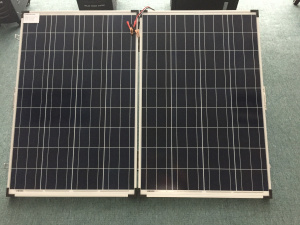 300W Solar Folding Solar Panel for Inverse System