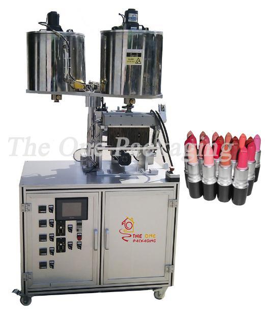 China Supplier 12 Nozzles Lipstick Filling Machine