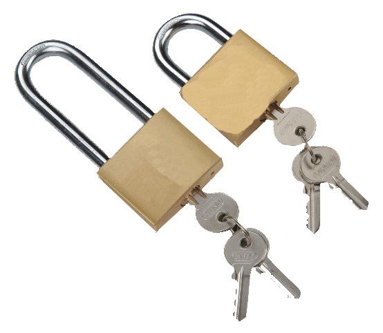 High Quanlity Different Key Europe Standard Brass Padlock