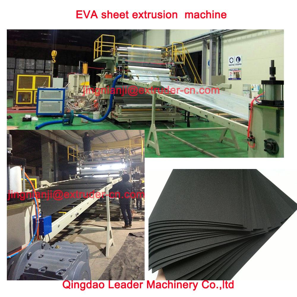 EVA Automotive Interior Decoration Sheet Making Machine