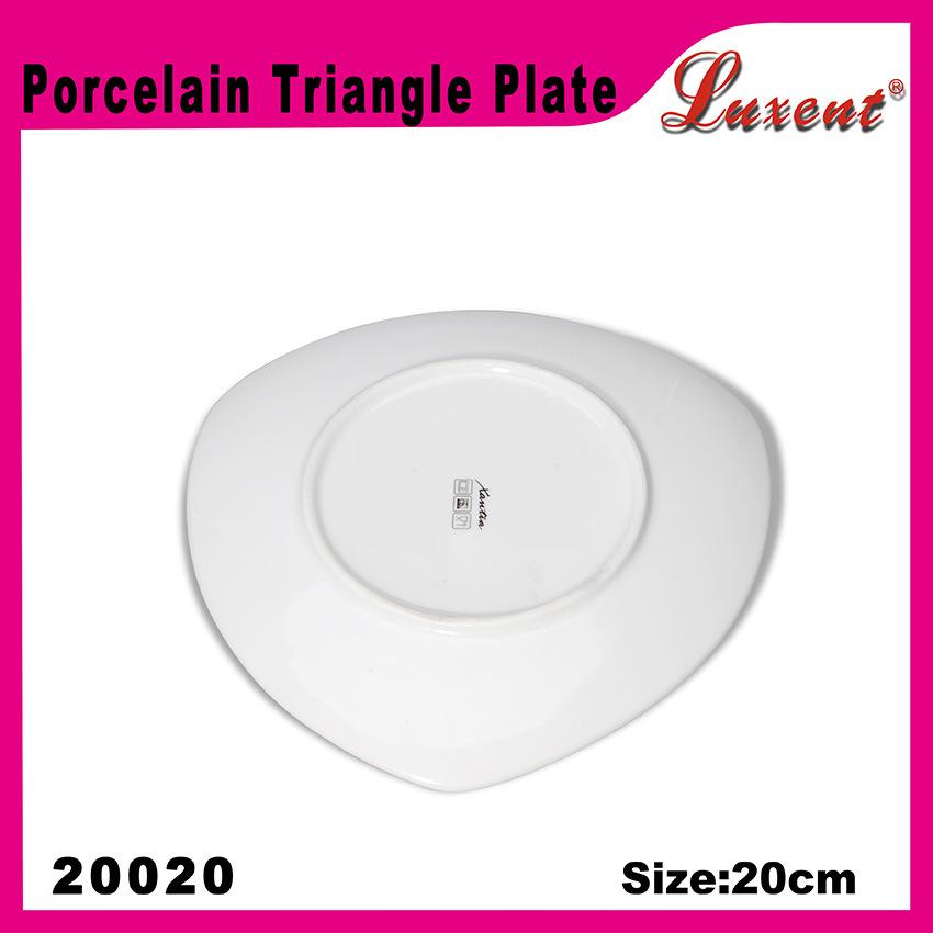 Porcelain Dishwasher Safe Banquet High Intension Restaurant Plate