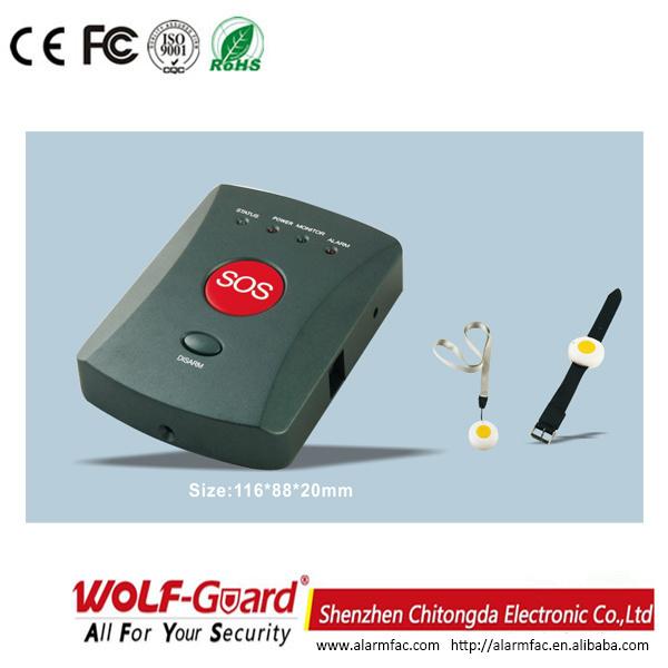 GSM Emergency Alarm System for Elder