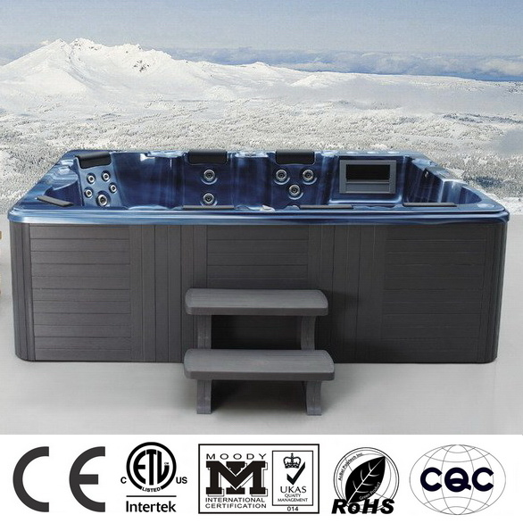 3 Meters Blue Rectangle Europeans Jacuzzi Bathtub M-3320