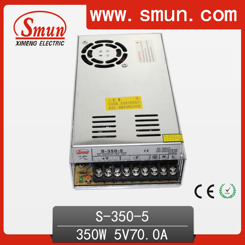 350W 5VDC 50A Switch Power Supply/SMPS (S-350-5)