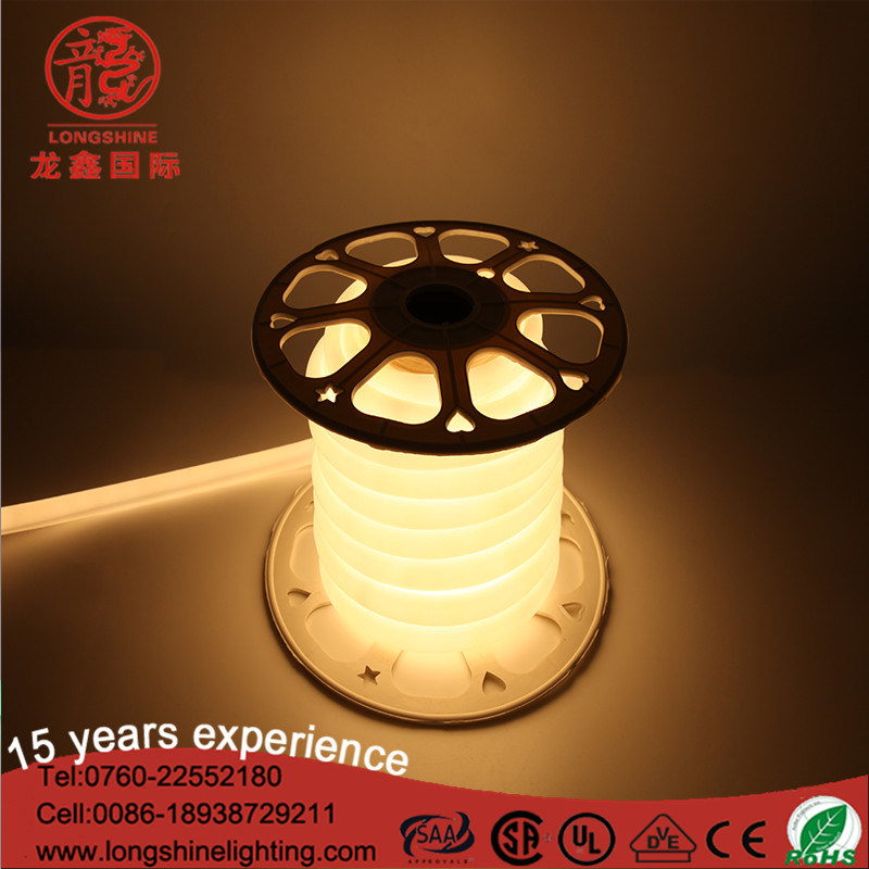 Widely Used Warm White Long Life Lamp RGB DC12V LED Neon Light Strip