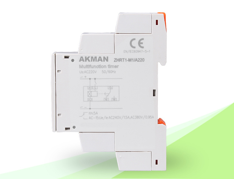 DC AC Time Delay Relay Monitoring Relay