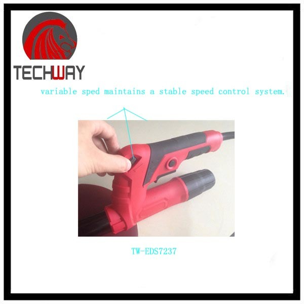 600W Electric Wall Sander Dry Wall and Ceiling Sander Foldable with Extention Tube
