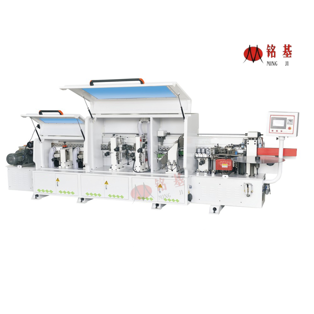 Automatic Edge Banding Machine with Slotting Function
