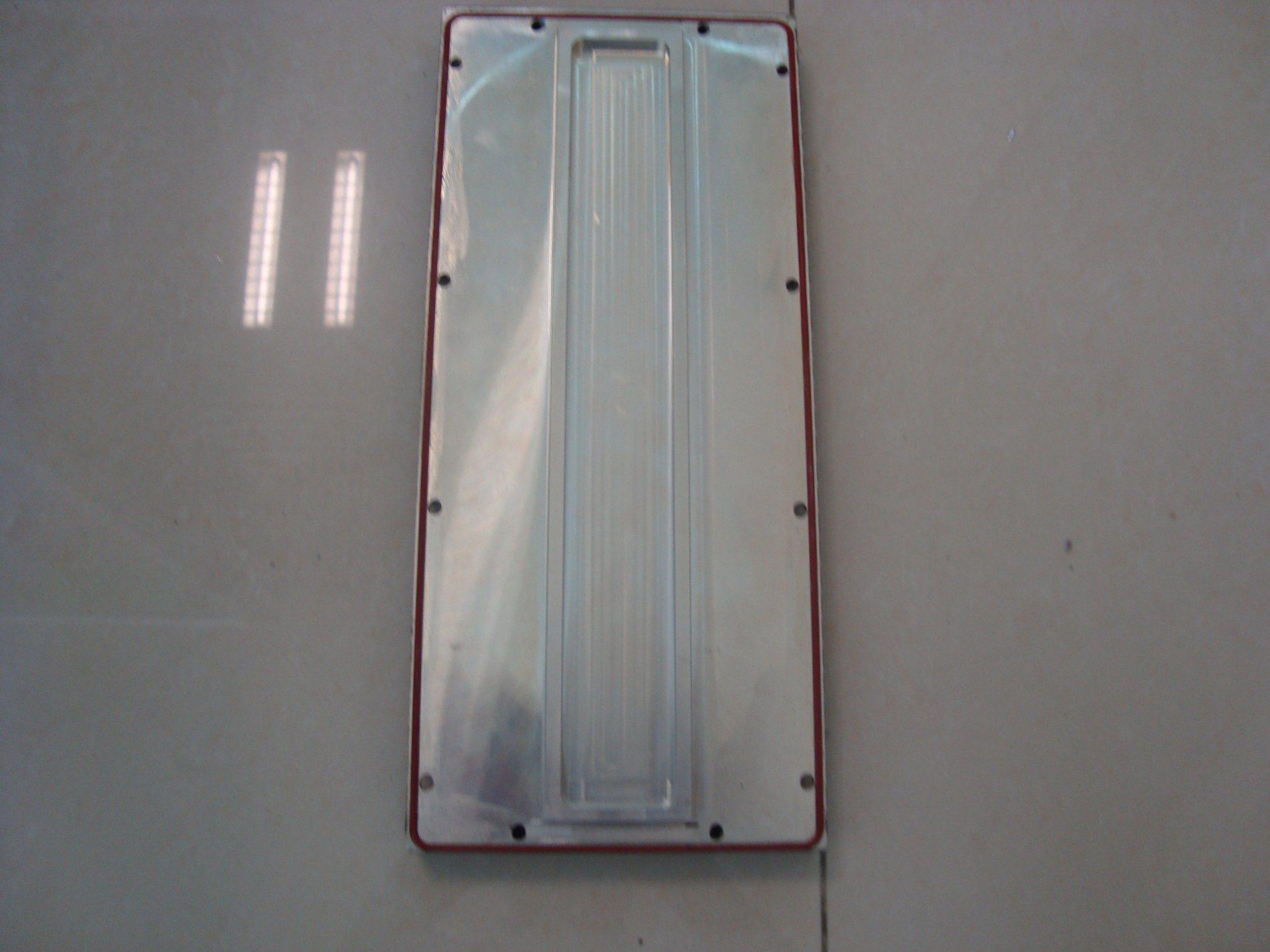Aluminium Heat Sink for Vidio with Precise CNC Machining Jobs