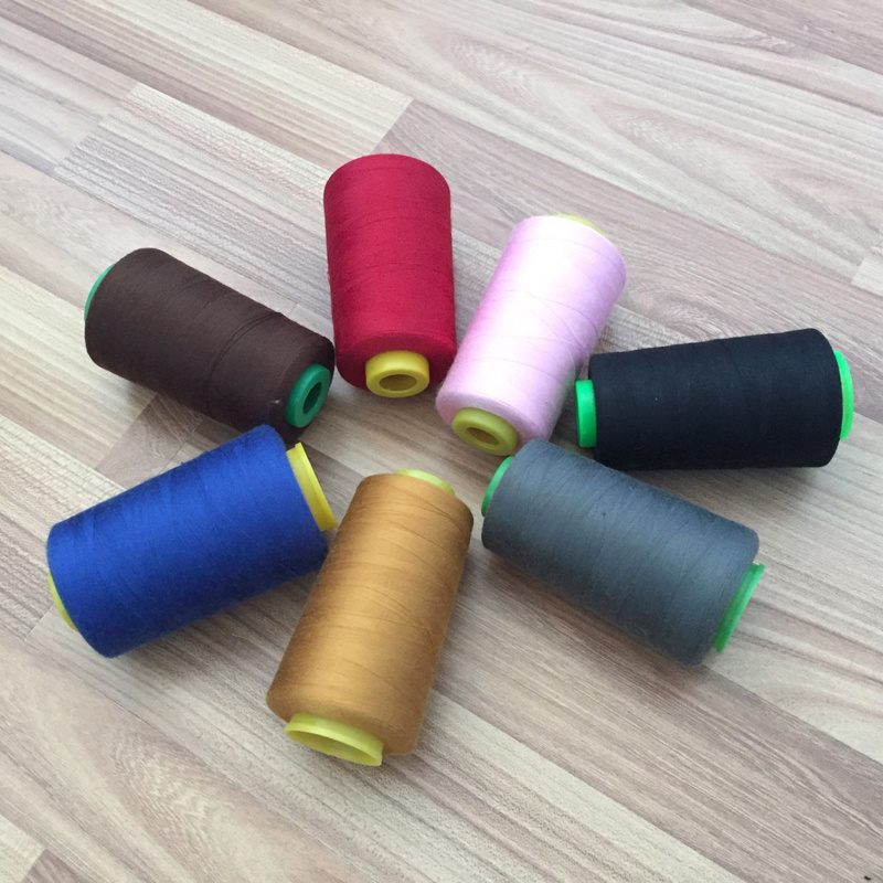 40s/2 Colorful Spun Polyester Sewing Thread