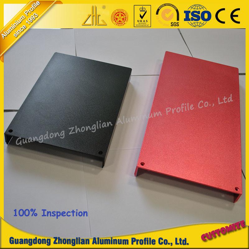 Aluminum Suppliers Customized Anodized Extrusion Profile Aluminium