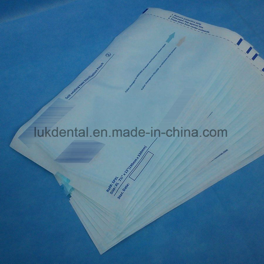 High Quality Medical Sterilization Pouch with Ce Approved