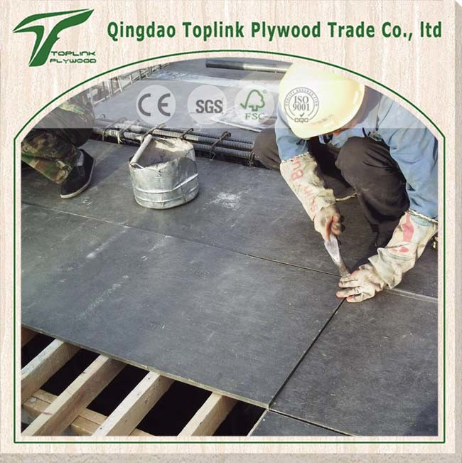 Factory Supply Labor Saving Concrete Shuttering Plywood/ Film Faced Plywood