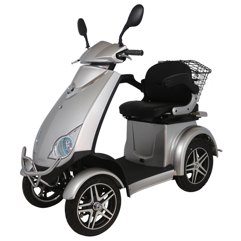 Hot Sale Four Wheel Electric Scooter for Old People with 500W Motor