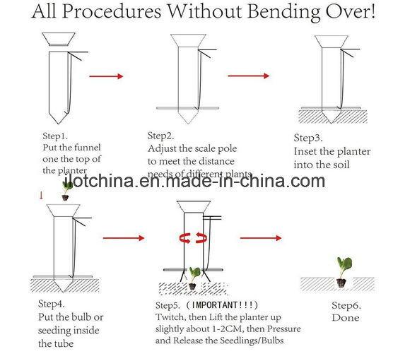 Ilot Handheld Manual Bulb Planter and Seedling Transplanter