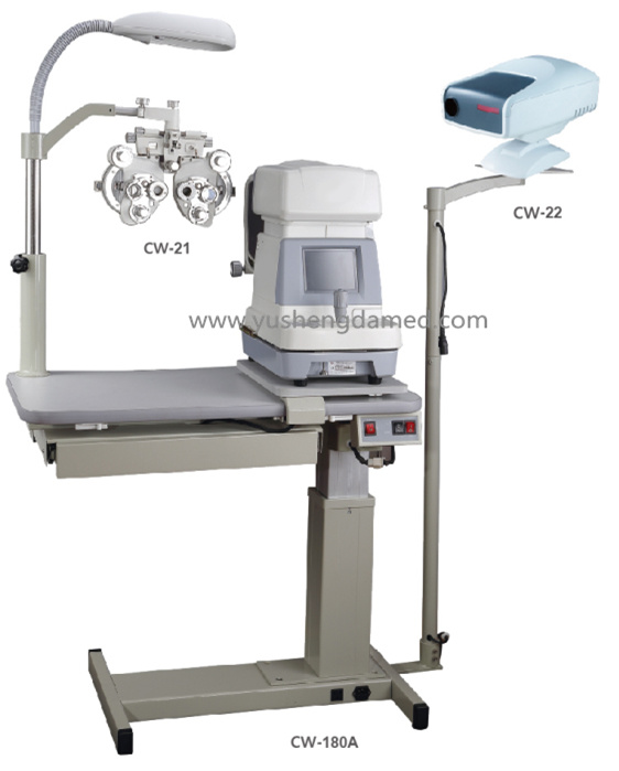 Hot Sale Combined Table Ophthalmic Unit Optical Instrument