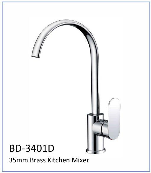 Bd3401d 35mm Brass Single Lever Kitchen Faucet
