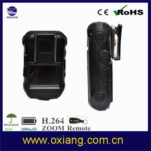 WiFi 1080P Law Enforcement Police Body Worn Camera Ox-Zp605W