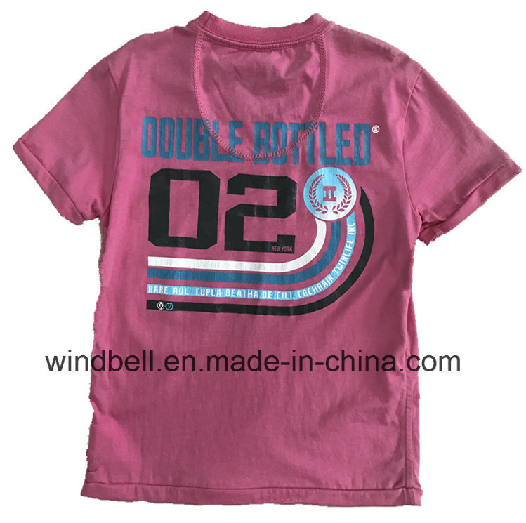 Comfortable Cotton T-Shirt for Boy with Rubber Print