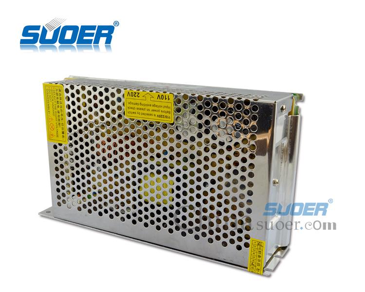 Suoer Manufacture 240W AC DC Single Output CCTV Camera 12V 20A Power Supply (SPD-P240)