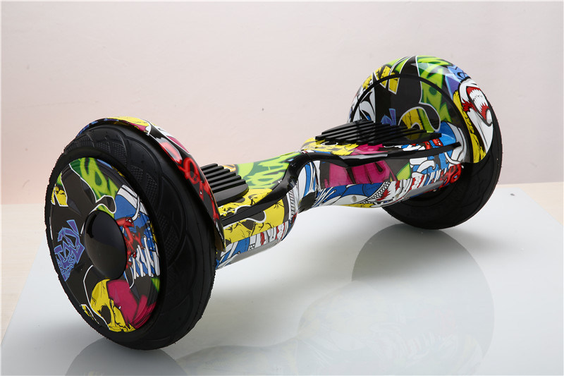 New Design! Two Wheels Fleeing Horse Cross-Country Hoverboard Electric Skateboard Bluetooth Musical Self Balancing Scooter