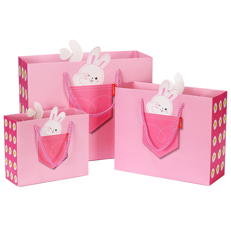 Custom Printed Luxury Large/Small Christmas/Brown/White Kraft Cardboard Packaging/Shopping/Gift/Paper Bags