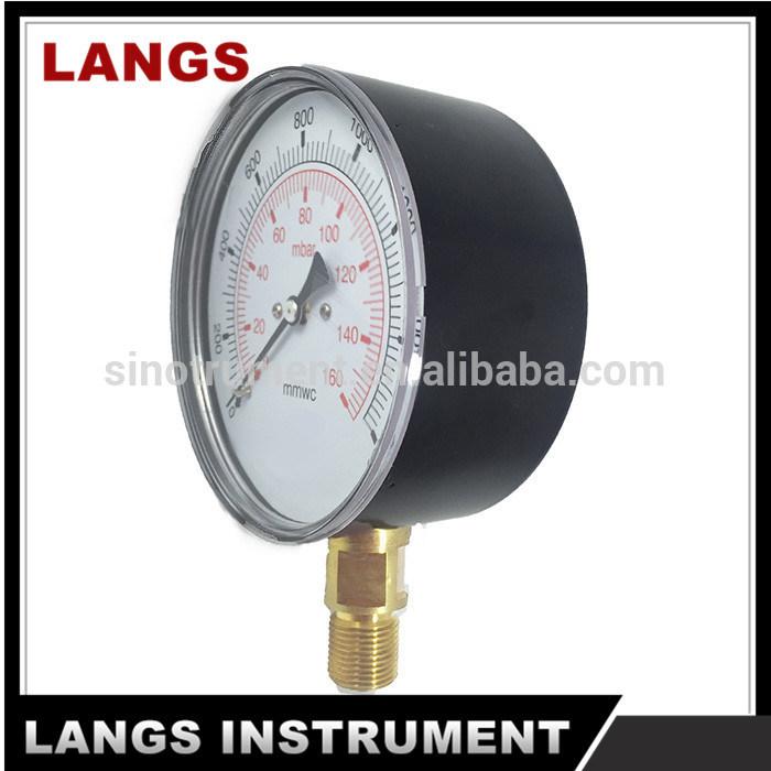 065 Capsule Low Pressure Gauge
