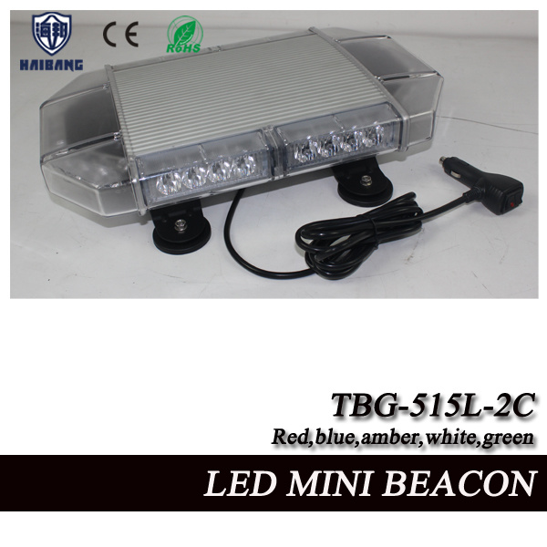 17 Inch LED Mini Flashing Beacon Light with Tir Lens and Aluminum Shell (TBG-515L-2C)