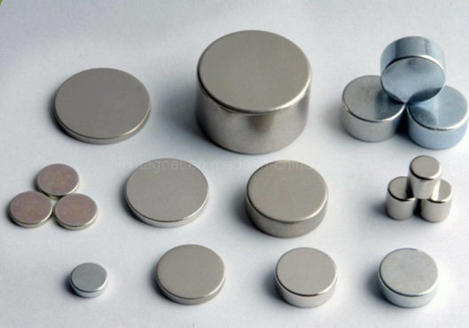 Cheap Wholesale N35 Zinc Plated Disk Neodymium Magnets for Sale