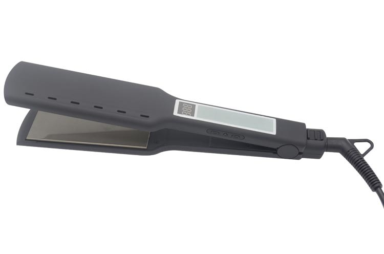 Vibrating Mch Heater Flat Iron LCD Hair Straightener