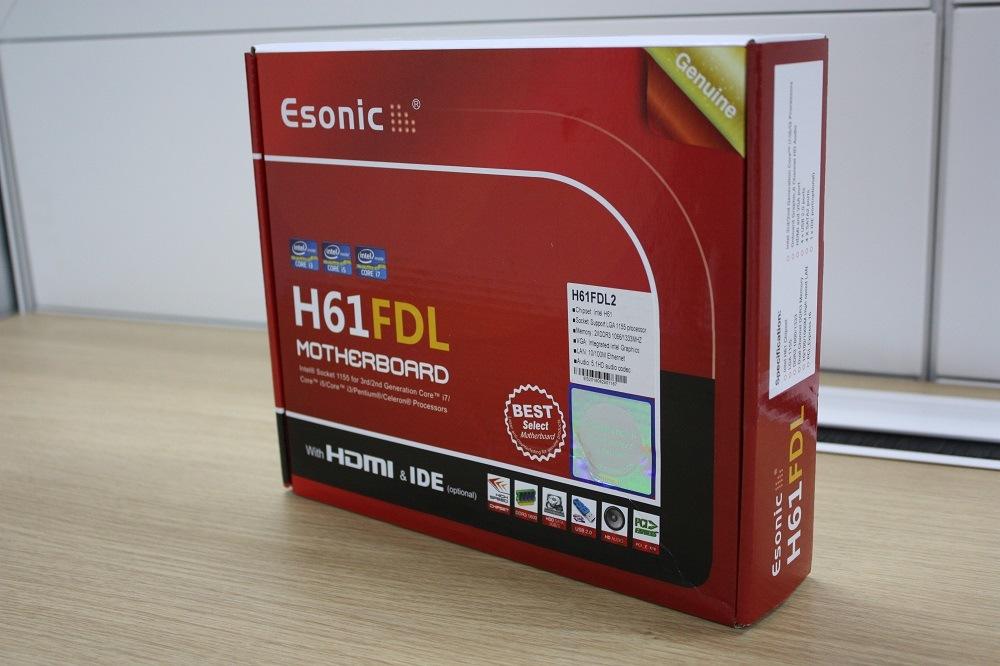 Esonic LGA1155 Motherboard Mainboard Intel H61FDL2 for I3 I5 I7 CPU