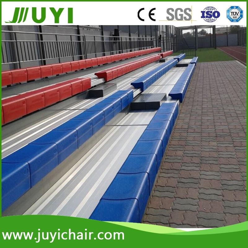 Jy-750 China Supplier Telescopic HDPE Stadium Seating Bleacher Gym Bleacher