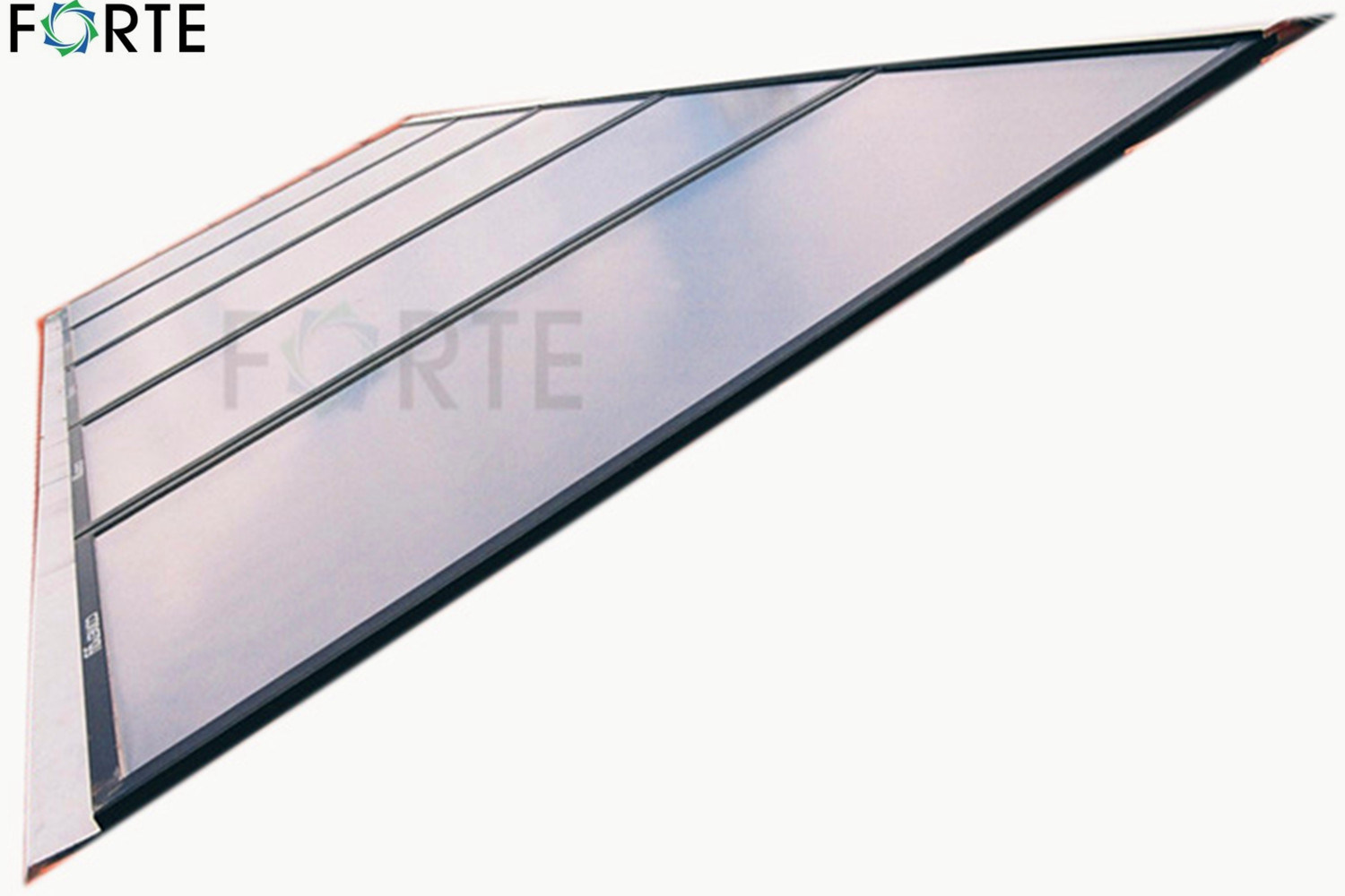 Flat Plate High Pressure Blue Absorber Solar Water Heater