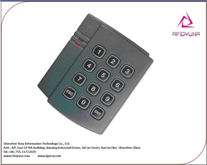 Door Access Control System Wiegand ID IC Card Reader  RFID