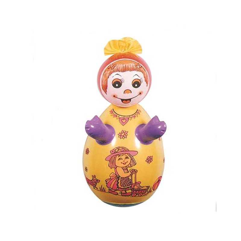 PVC or TPU Inflatable Girl Mini Punching Bag