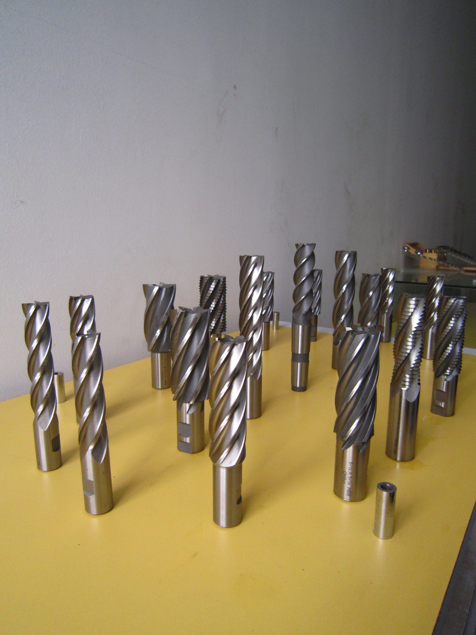 4 Flute Roughing End Mill
