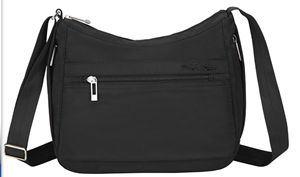 Canvas Document Laptop Computer Sling Crossbody Shoulder Messenger Bag