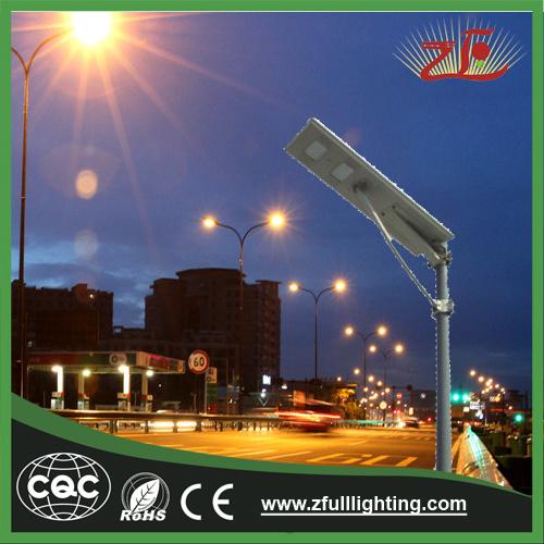 40W Energy Saving All in One LED Solar Street Light