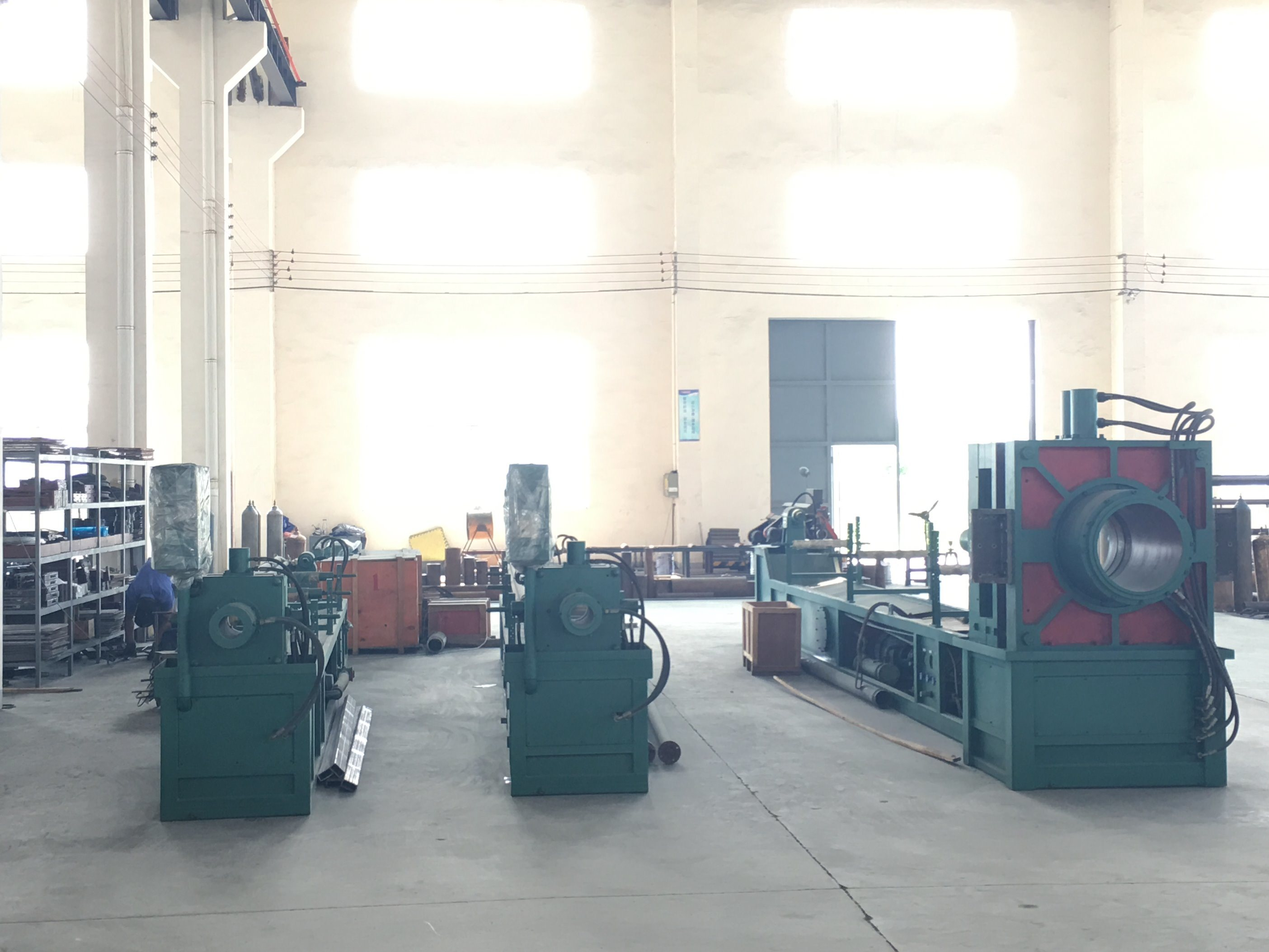 Hydraulic Flexible Corrugated Hose Making Machine