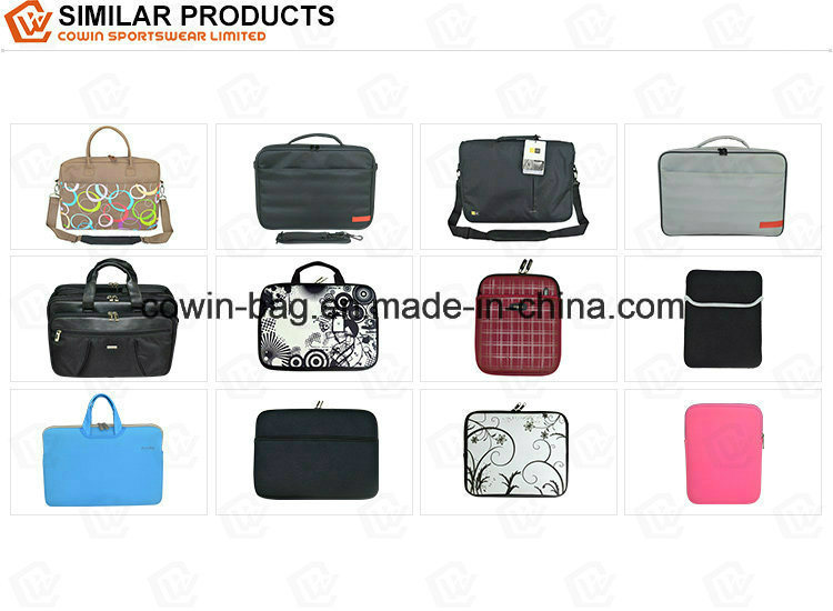 "17"" Waterproof and Shockproof Neoprene Laptop Sleeve with Handle Strap"