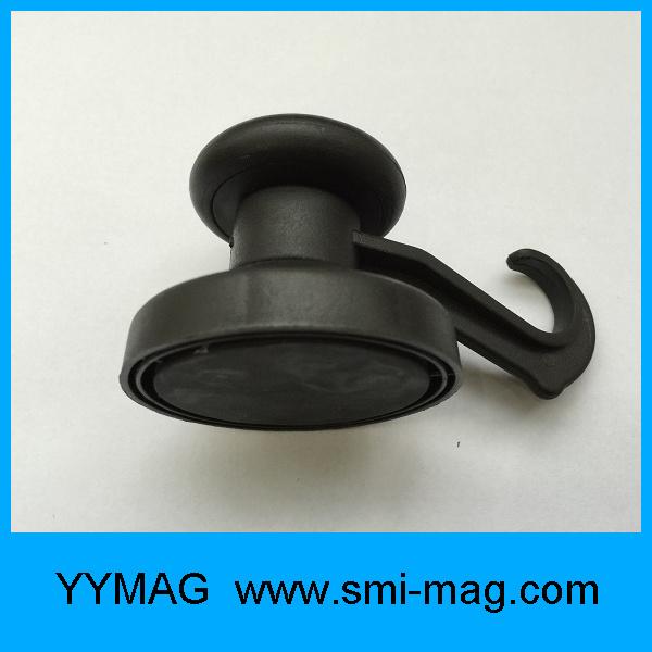 Plastic Hook Magnet Neodymium Pot Magnetic