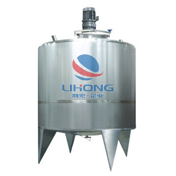 Steam Heating Stainless Steel Mixing Tank (Reactor) for Food, Beverage, Pharmaceutical, etc