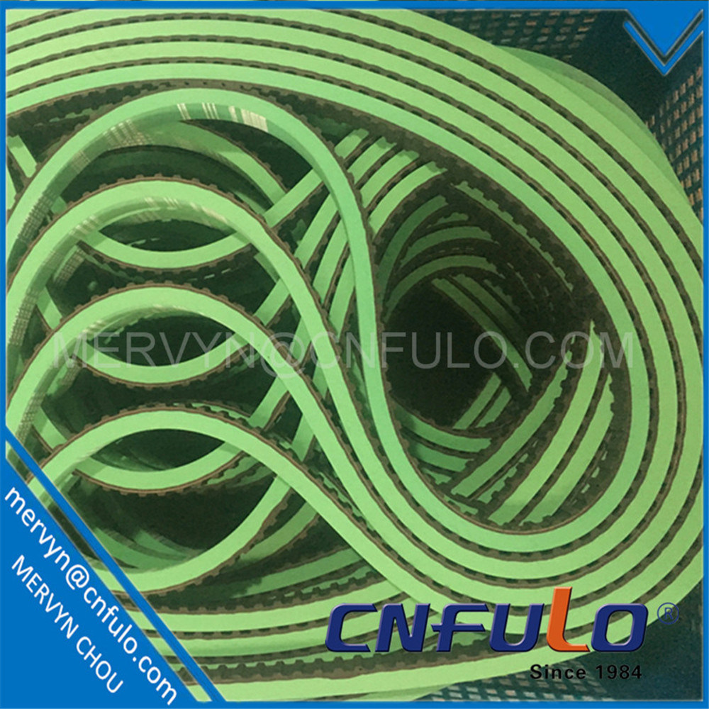 Green Coating Timing Belt for Packing Machine