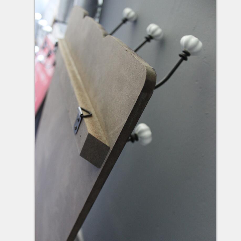 Hat and Coat Display Hanger Hooks, Wall Wooden Coat Rack Hooks
