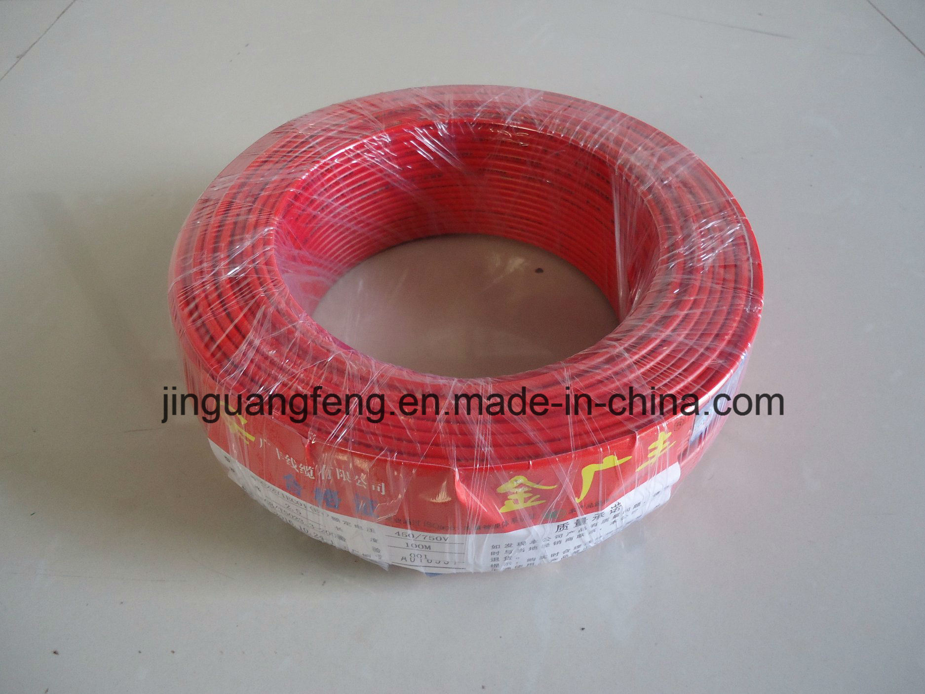 IEC245-81/82 Copper Conductor PVC Insulation Connecting Flexible Electric Wire