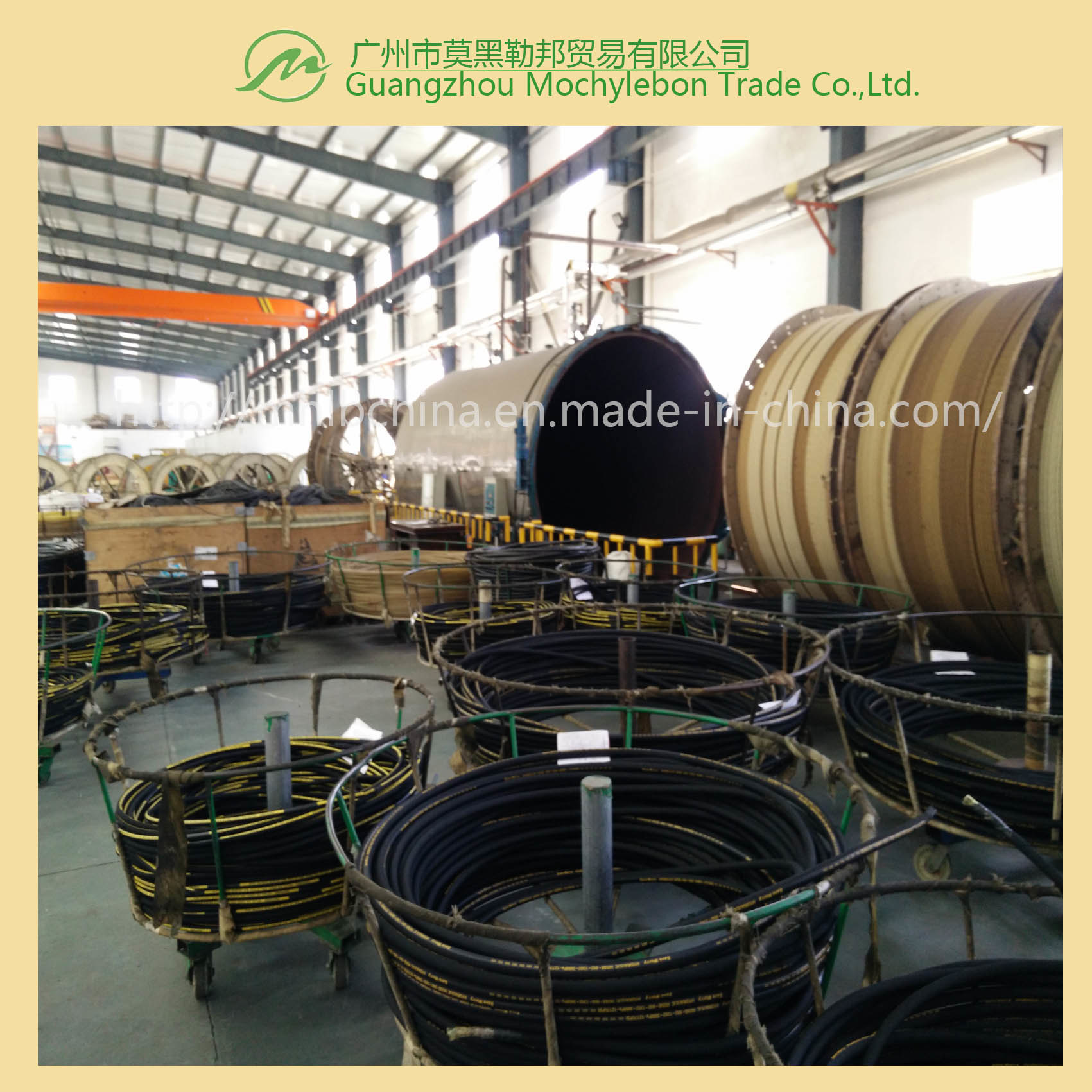 Steel Wire Hydraulic Hose&Hose Fittings